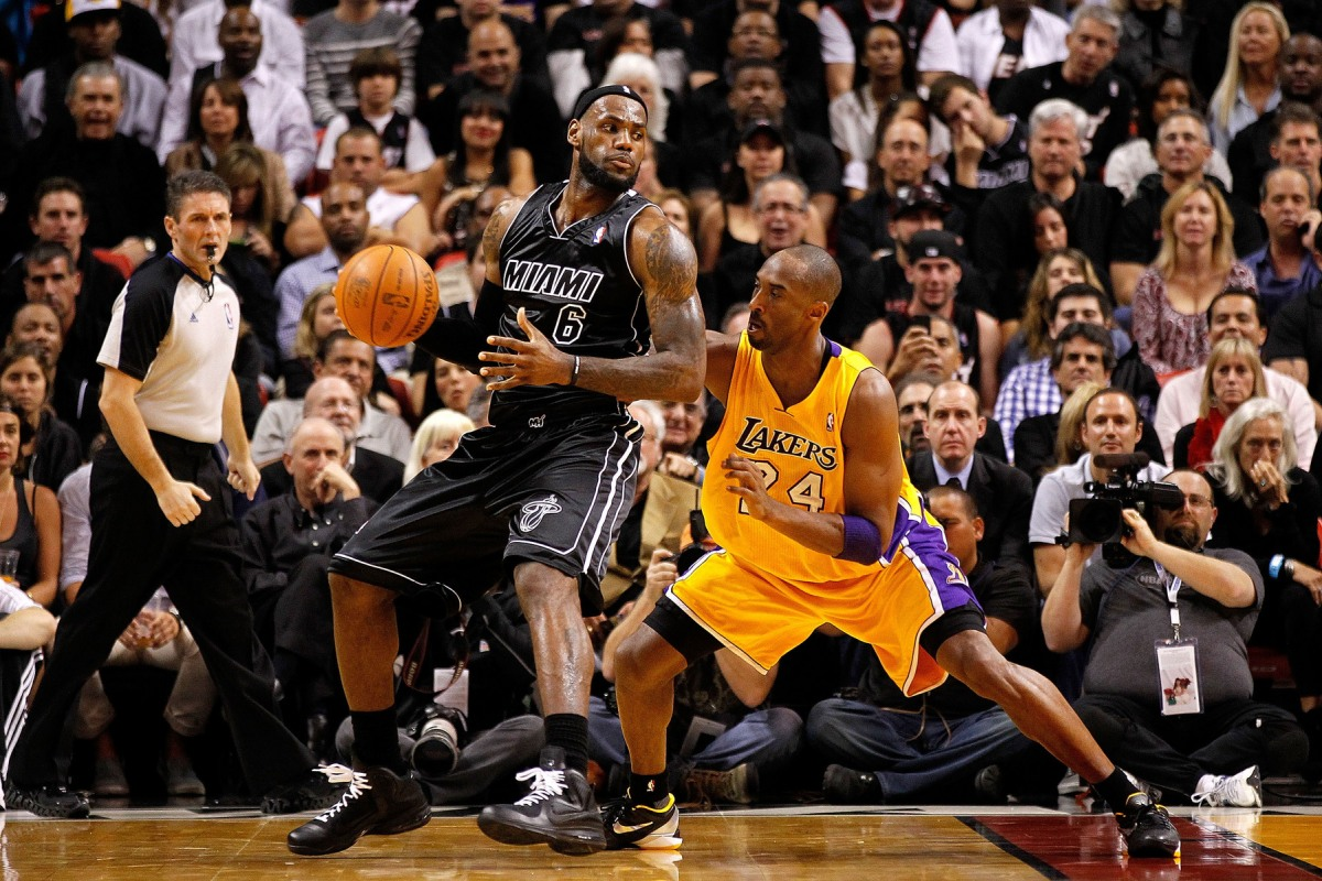 Kobe vs LeBron 2013 Comparison