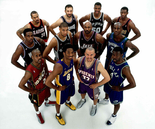 01 Western Conference All-stars